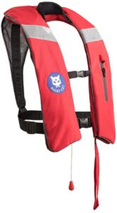 Night Cat Life Jacket for Adults Kayaking Vest Jacket Manual Inflatabe 150KG/330LBS Visit the Night Cat Store