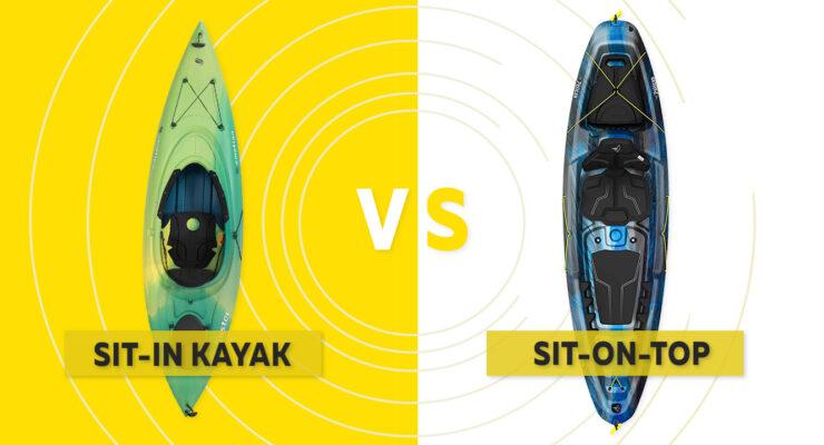 Sit On Top vs Sit in Kayaks