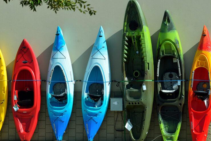 Types of Whitewater Kayaks